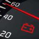 روشن شدن چراغ باتری خودرو