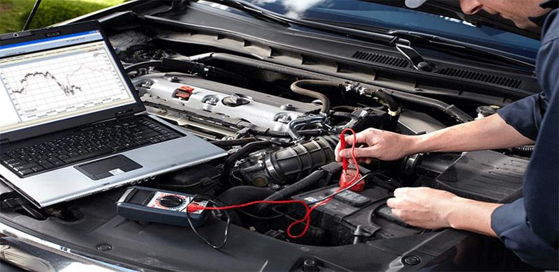بررسی سلامت فنی خودرو با دیاگ