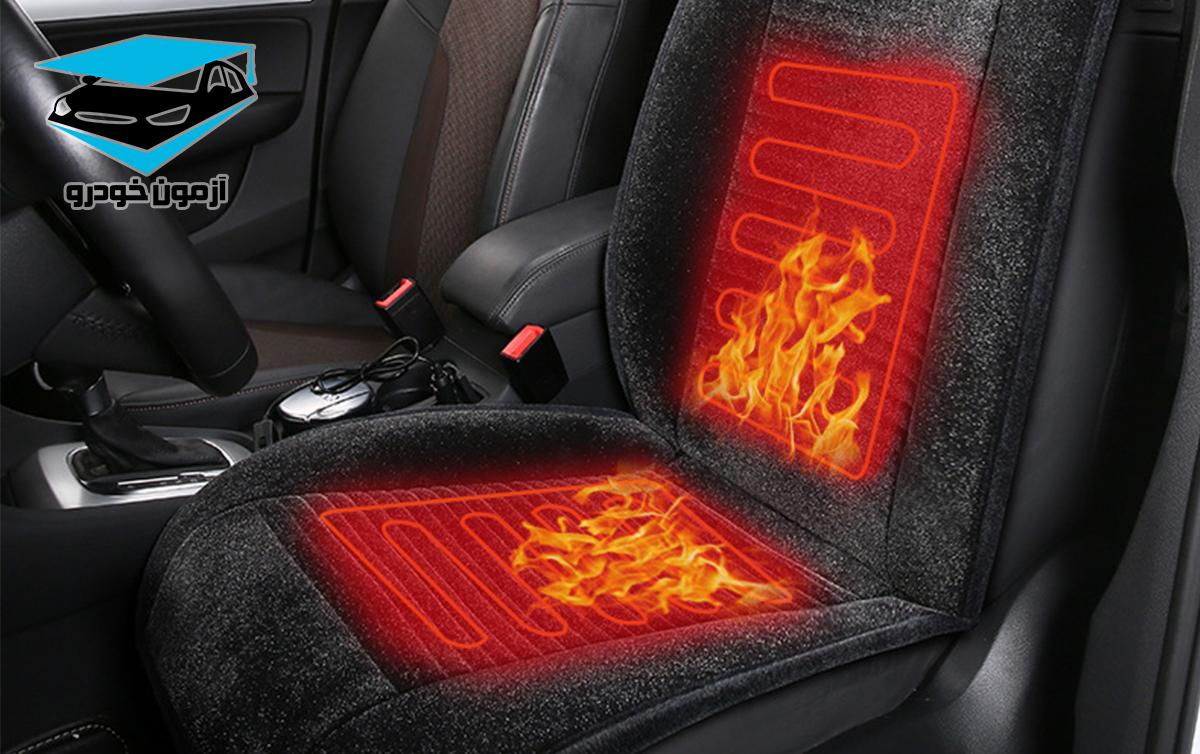 آپشن های رفاهی خودرو، صندلی حرارتی