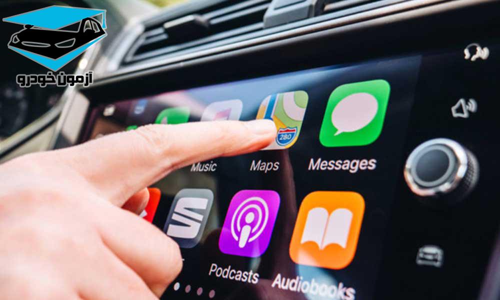 آپشن های صوتی و تصویری خودرو